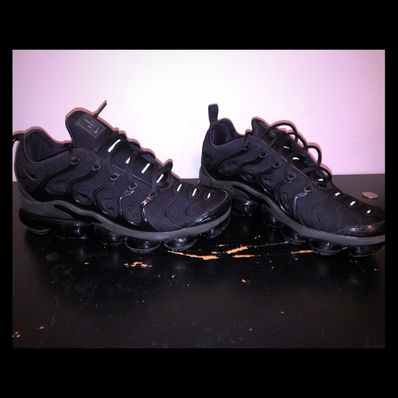 Nike Other - Nike VaporMax Plus 'triple black' LIMITED EDITION